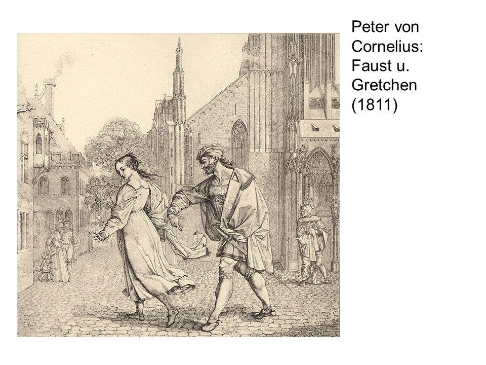 Peter von Cornelius: Faust u. Gretchen