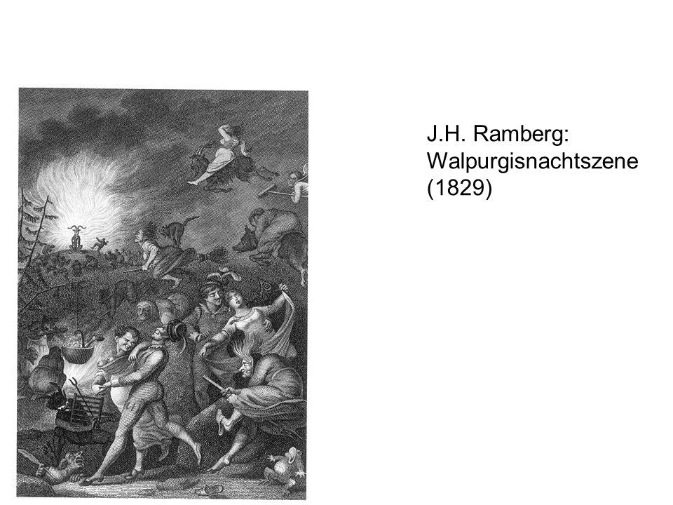 J.H. Ramberg: Walpurgisnachtszene (1829)