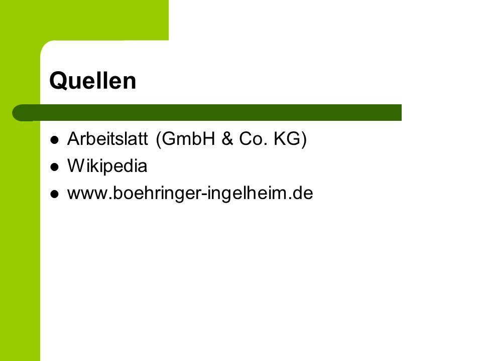 Quellen Arbeitslatt (GmbH & Co. KG) Wikipedia
