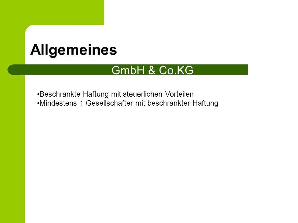 Allgemeines GmbH & Co.KG