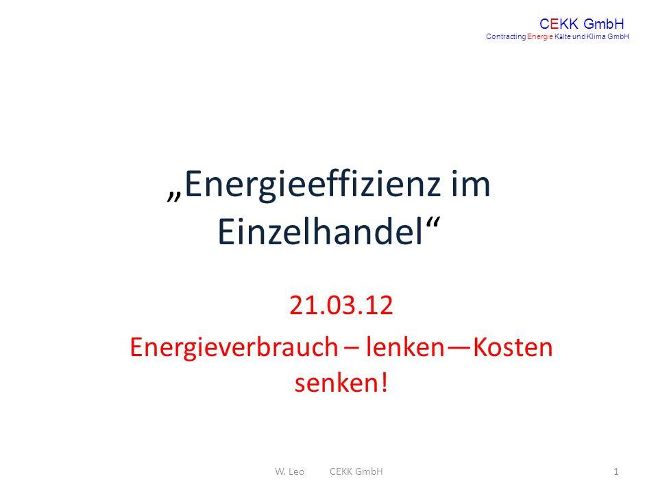 """""""Energieeffizienz im Einzelhandel"""