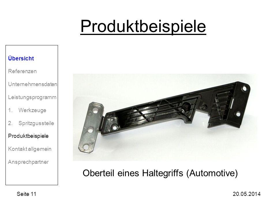 Oberteil eines Haltegriffs (Automotive)