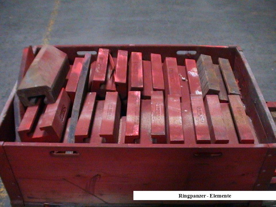 Ringpanzer-Elemente Ringpanzer - Elemente