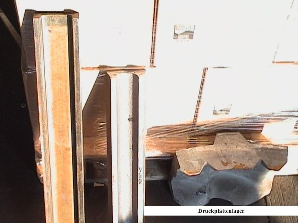 Druckplattenlager Druckplattenlager