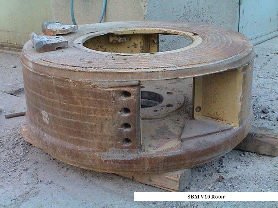 SBM V10 Rotor SBM V10 Rotor