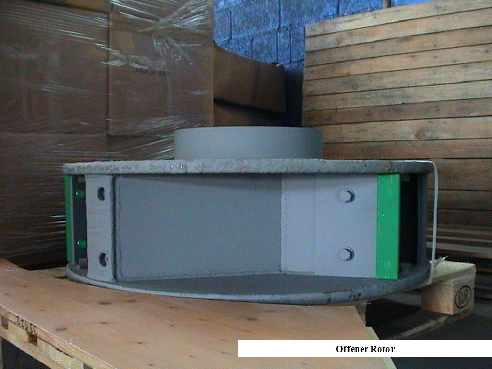 Offener Rotor Offener Rotor