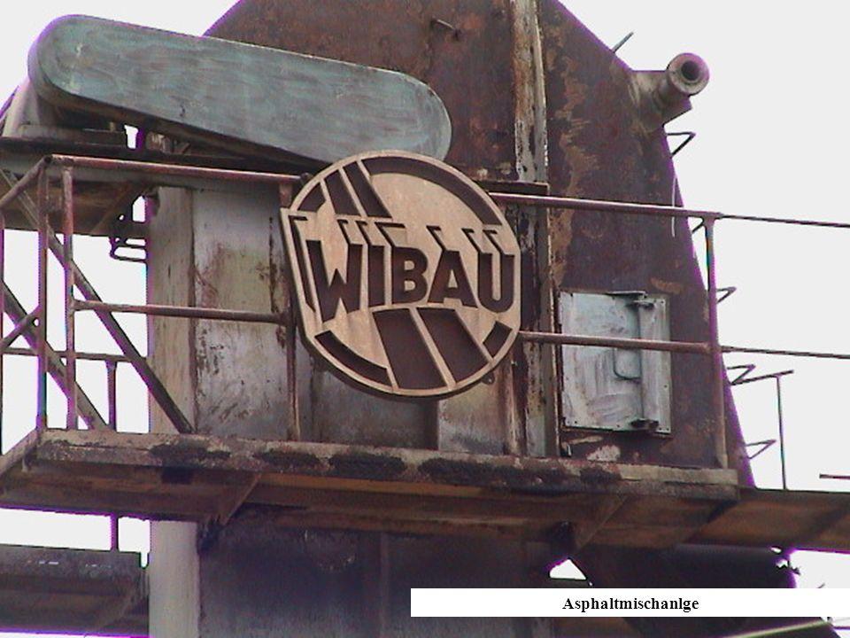 Asphaltmischanlage von WIBA