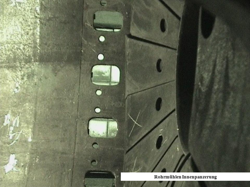 Rohrmühlen Innenpanzerung