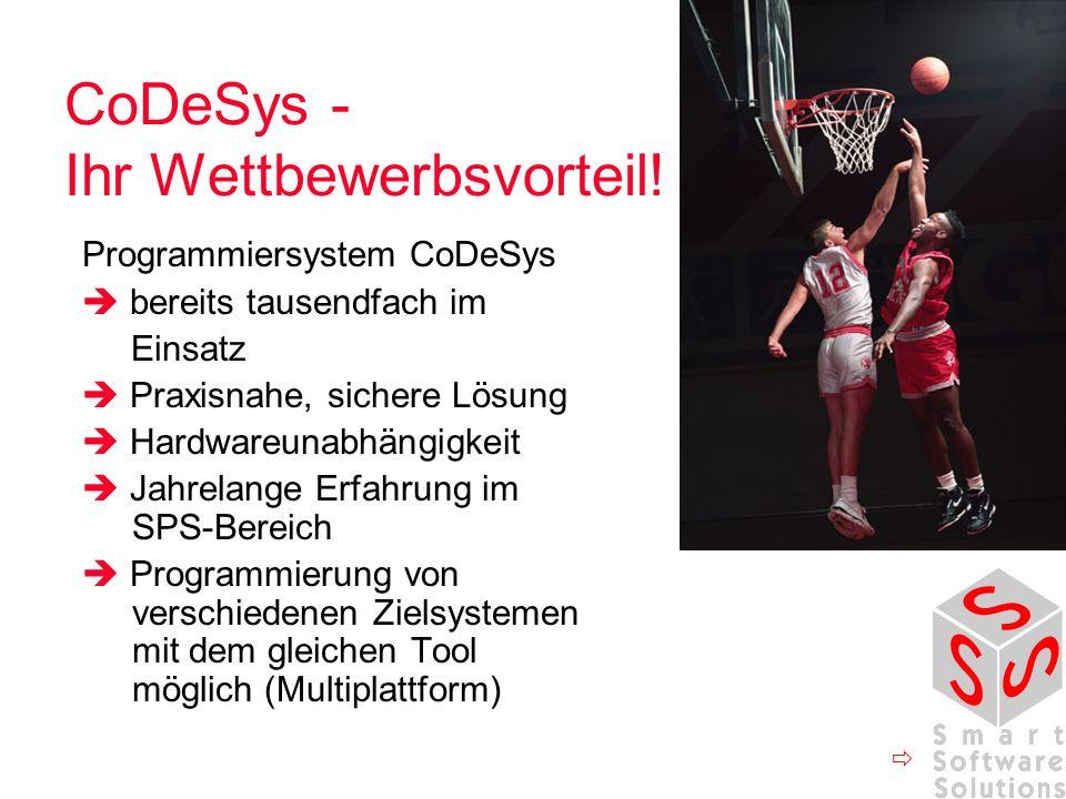 CoDeSys - Ihr Wettbewerbsvorteil!