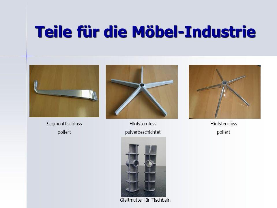 Teile für die Möbel-Industrie