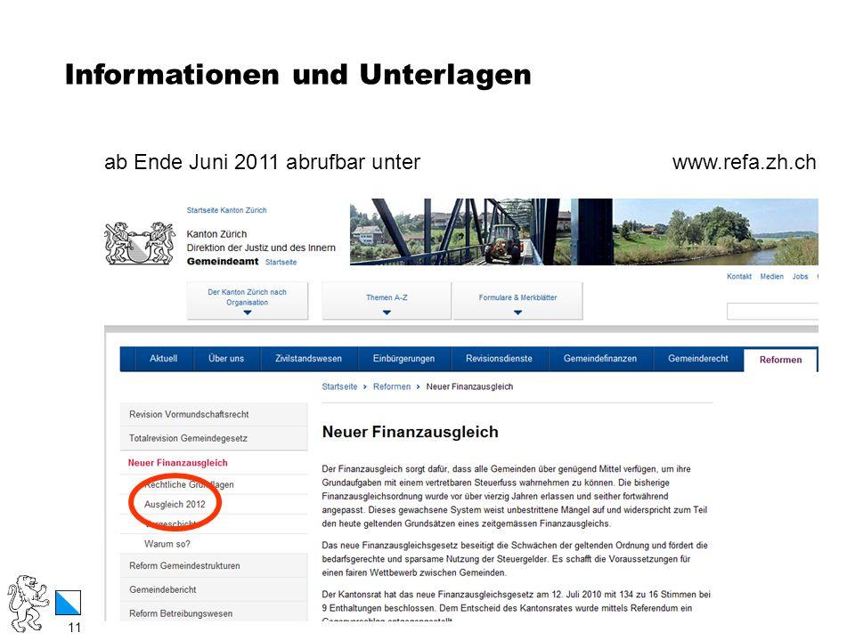 Informationen und Unterlagen