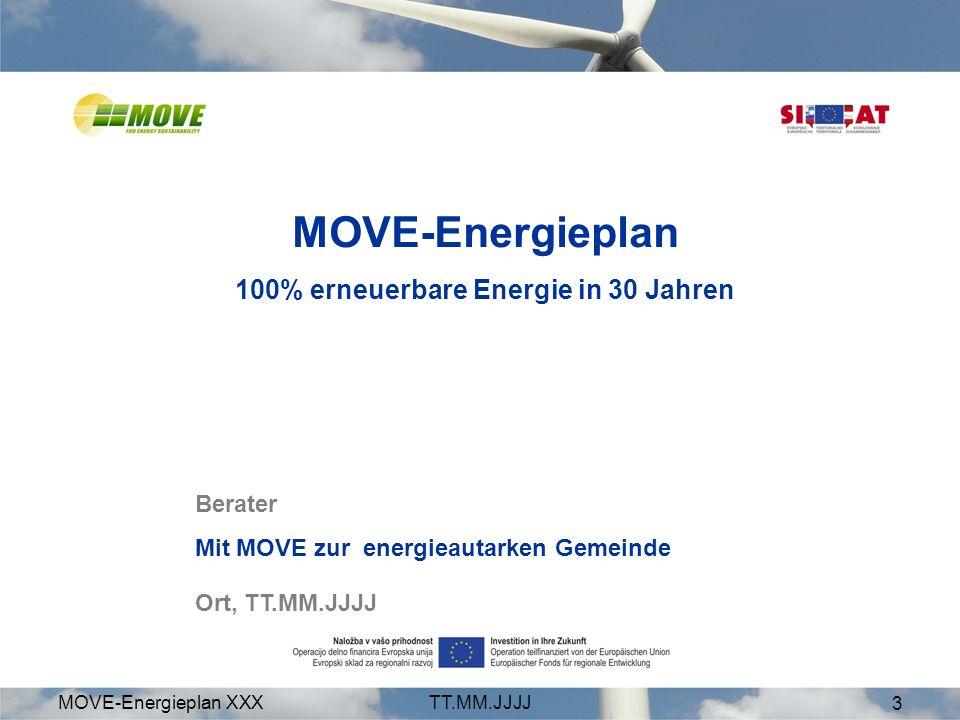 100% erneuerbare Energie in 30 Jahren