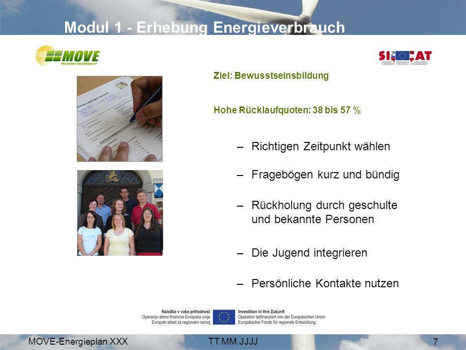 Modul 1 - Erhebung Energieverbrauch