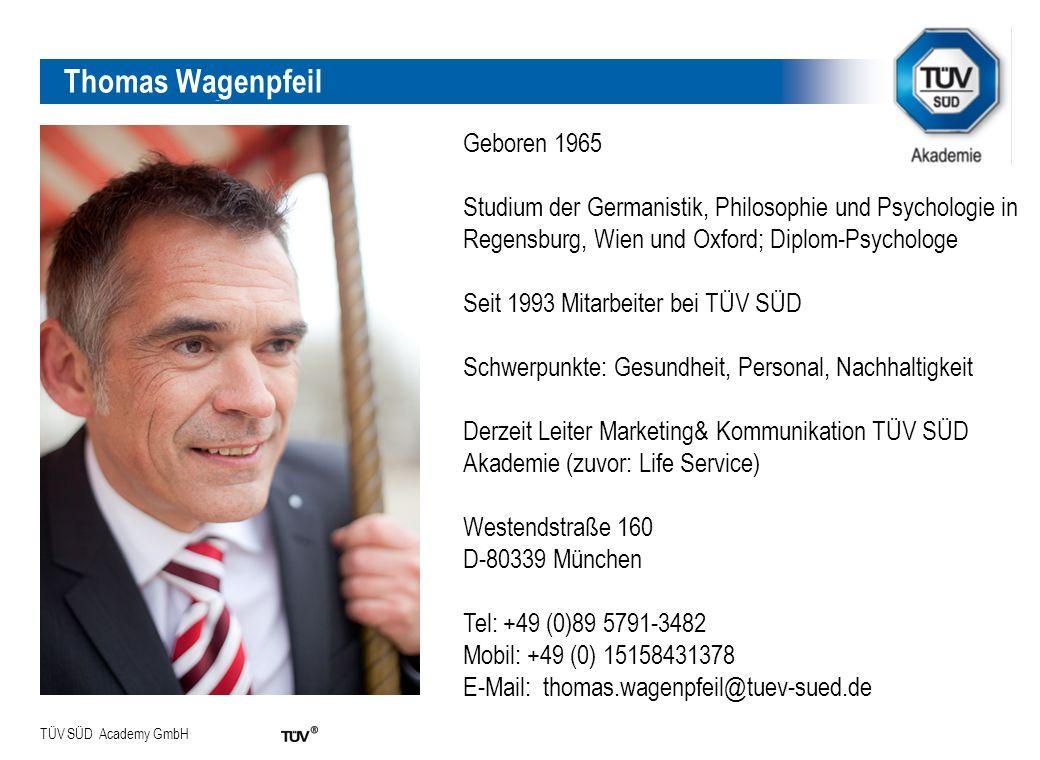 Thomas Wagenpfeil Thomas Wagenpfeil Geboren 1965