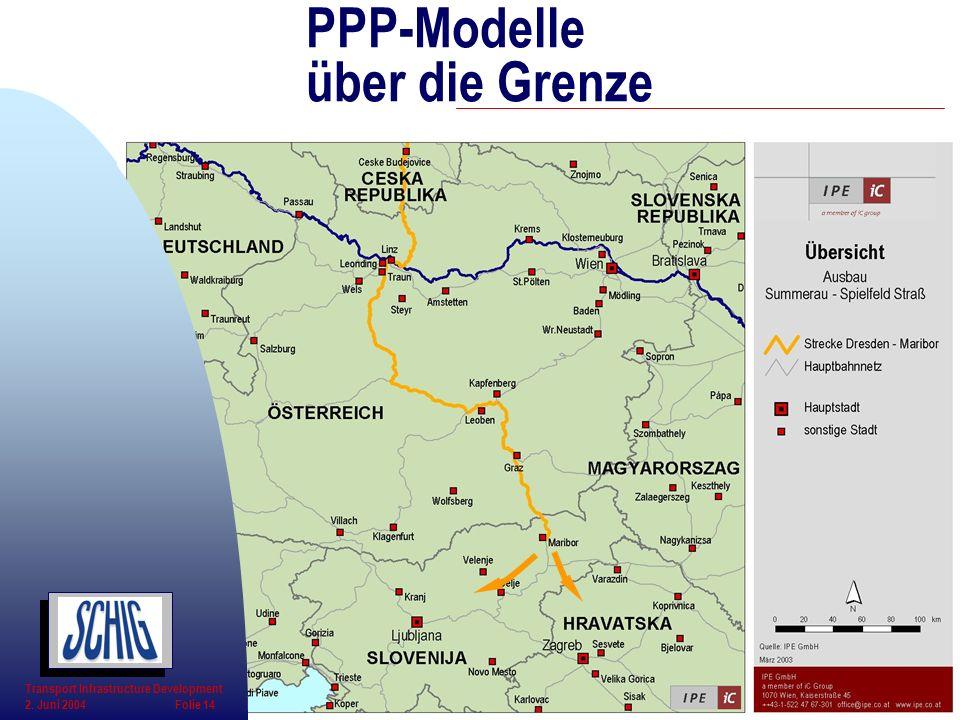 PPP-Modelle über die Grenze