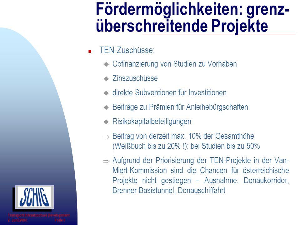 Fördermöglichkeiten: grenz-überschreitende Projekte