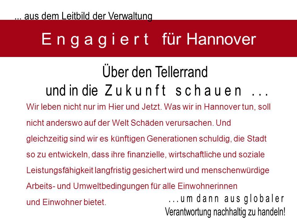 E n g a g i e r t für Hannover