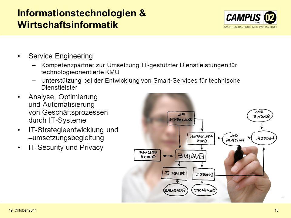Informationstechnologien & Wirtschaftsinformatik