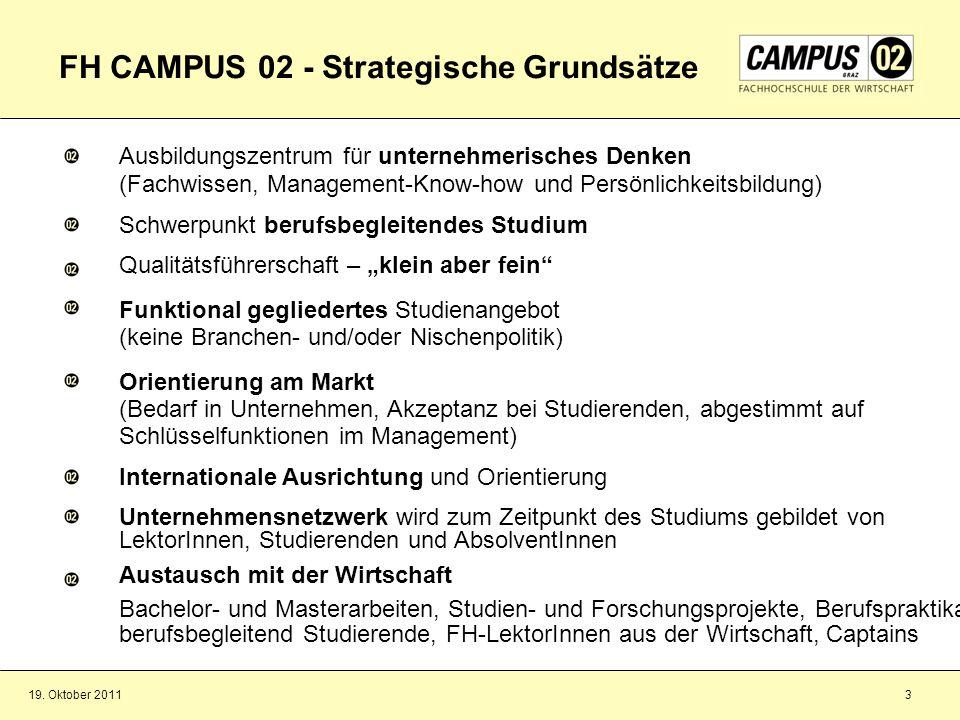 FH CAMPUS 02 - Strategische Grundsätze