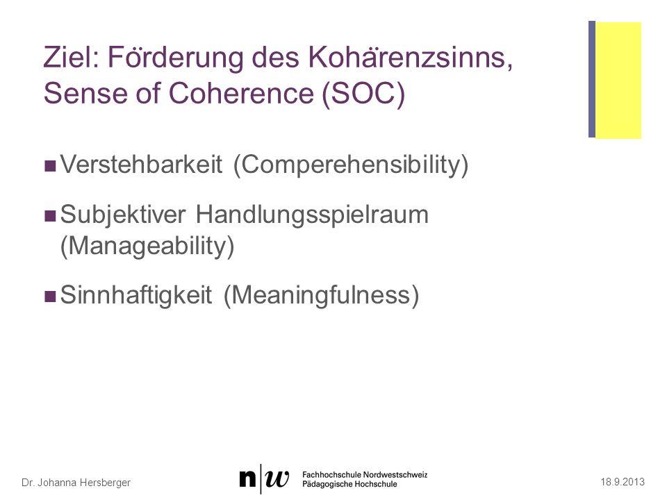 Wirkfaktoren und Interventionen