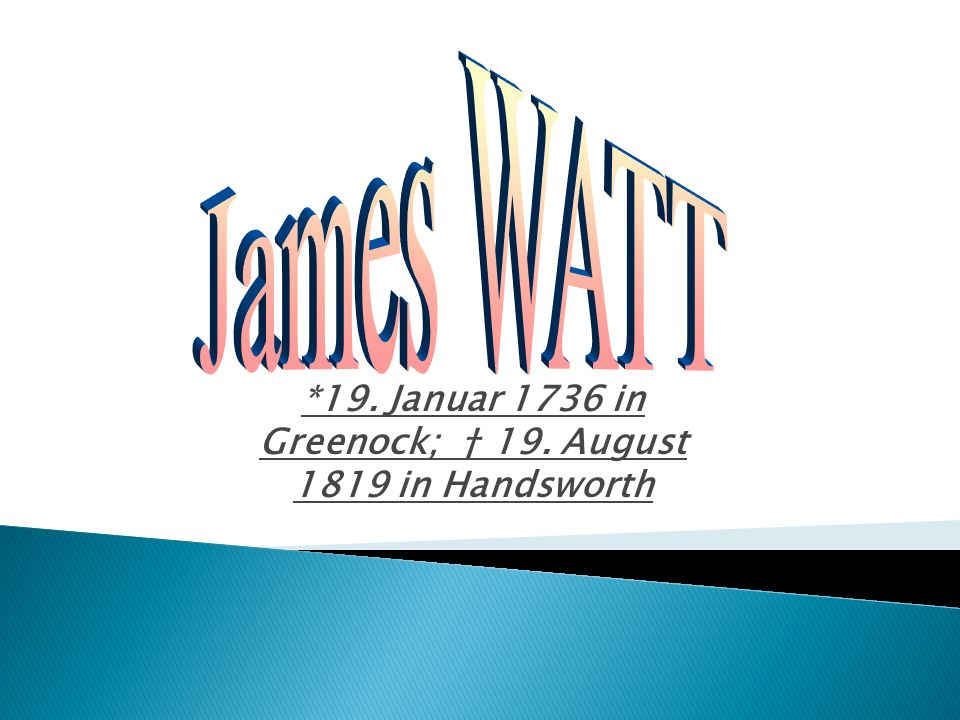 *19. Januar 1736 in Greenock; † 19. August 1819 in Handsworth