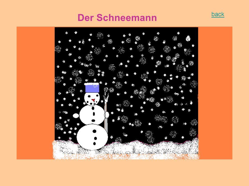 Der Schneemann back