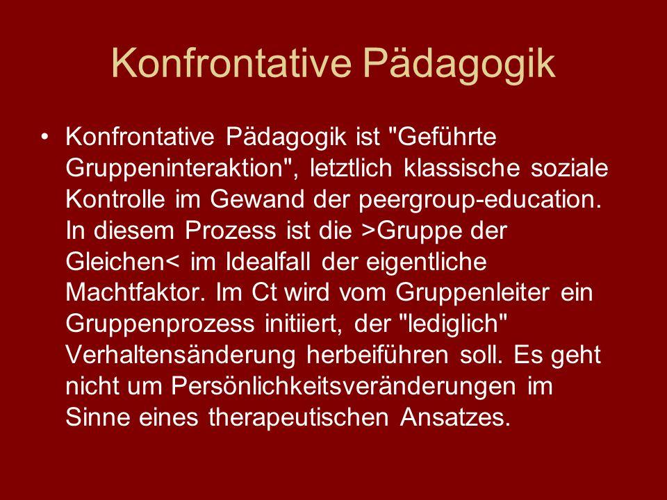 Konfrontative Pädagogik