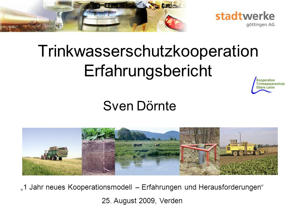 Trinkwasserschutzkooperation Erfahrungsbericht