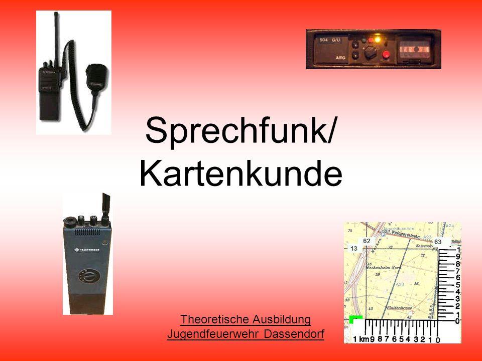 Sprechfunk/ Kartenkunde