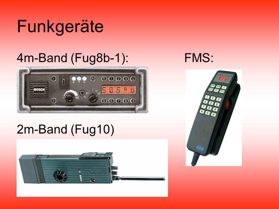 Funkgeräte 4m-Band (Fug8b-1): FMS: 2m-Band (Fug10)