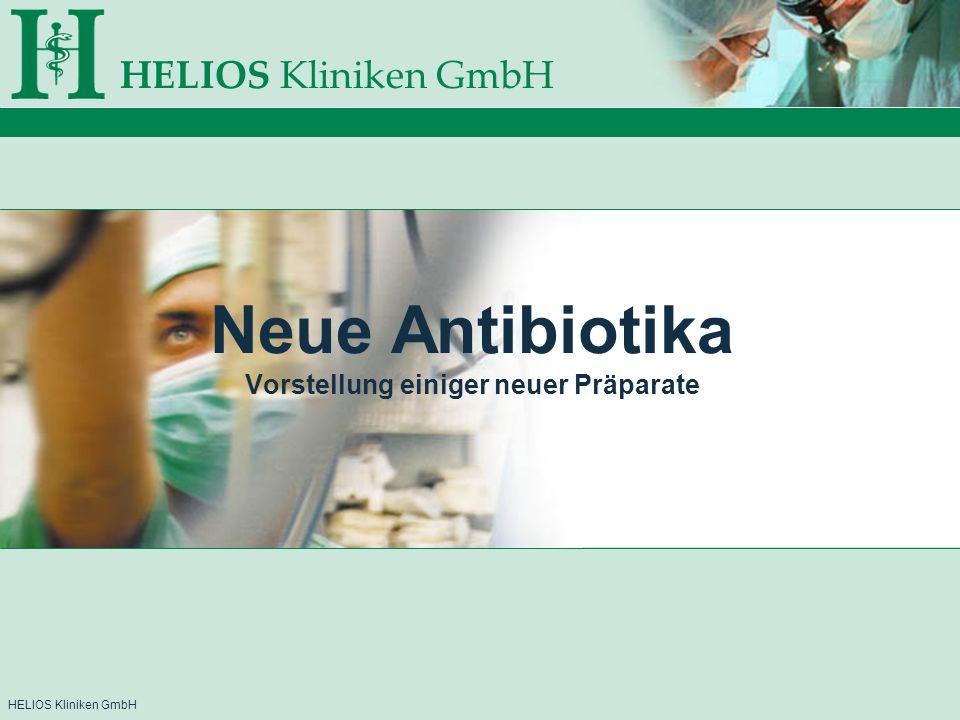 Neue Antibiotika Vorstellung einiger neuer Präparate