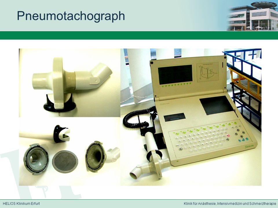 Pneumotachograph