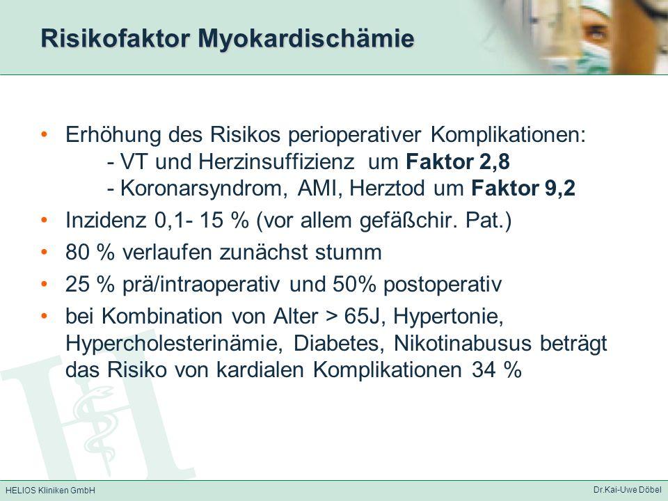Risikofaktor Myokardischämie
