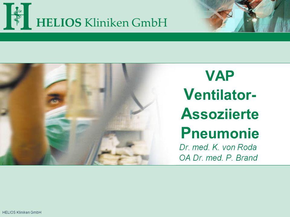 VAP Ventilator-Assoziierte Pneumonie