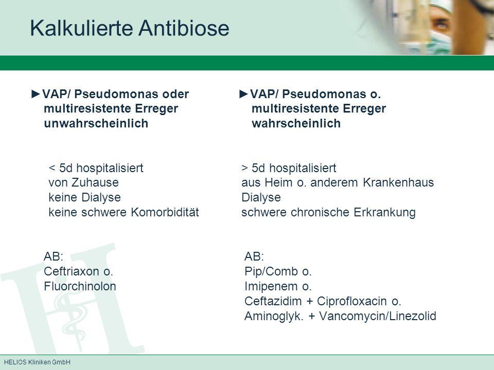 Kalkulierte Antibiose