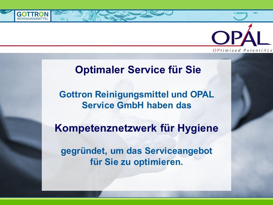 Optimaler Service für Sie Kompetenznetzwerk für Hygiene