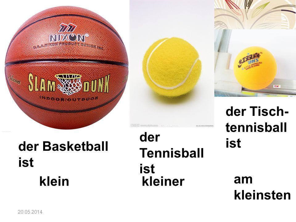 der Tisch-tennisball ist