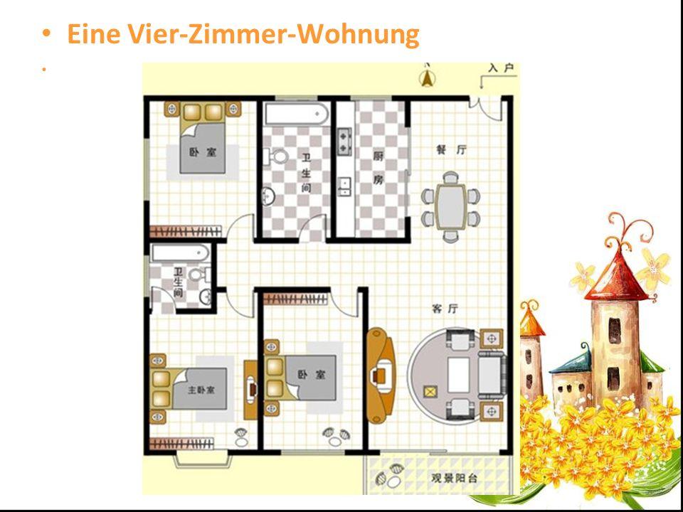 Eine Vier-Zimmer-Wohnung