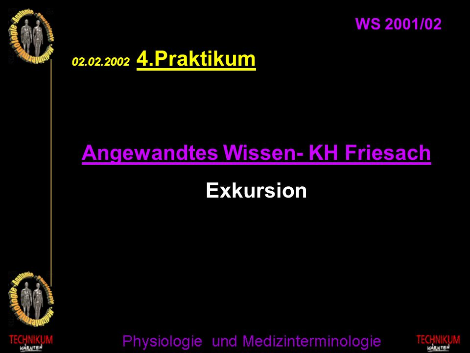 Angewandtes Wissen- KH Friesach
