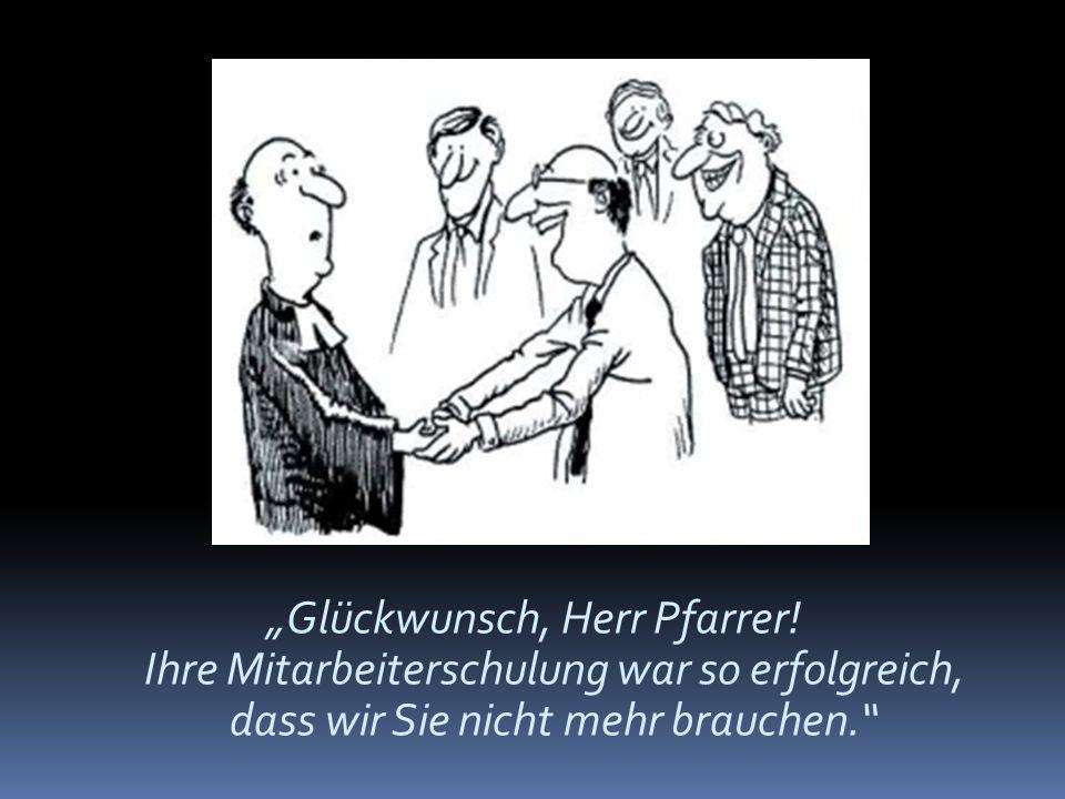 """""""Glückwunsch, Herr Pfarrer"""