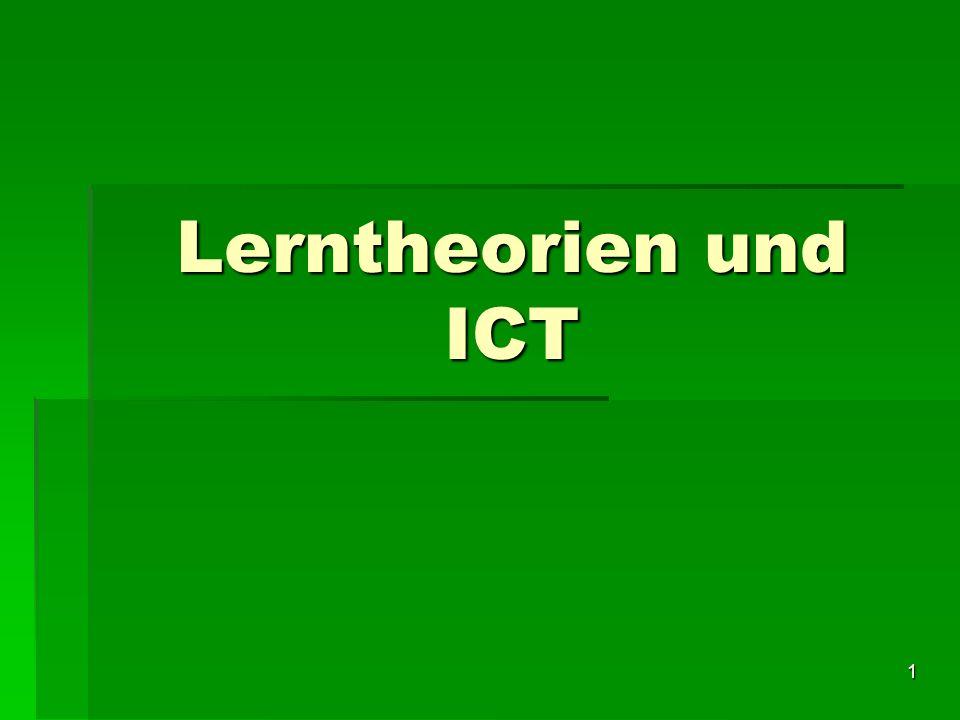 Lerntheorien und ICT Michele Notari