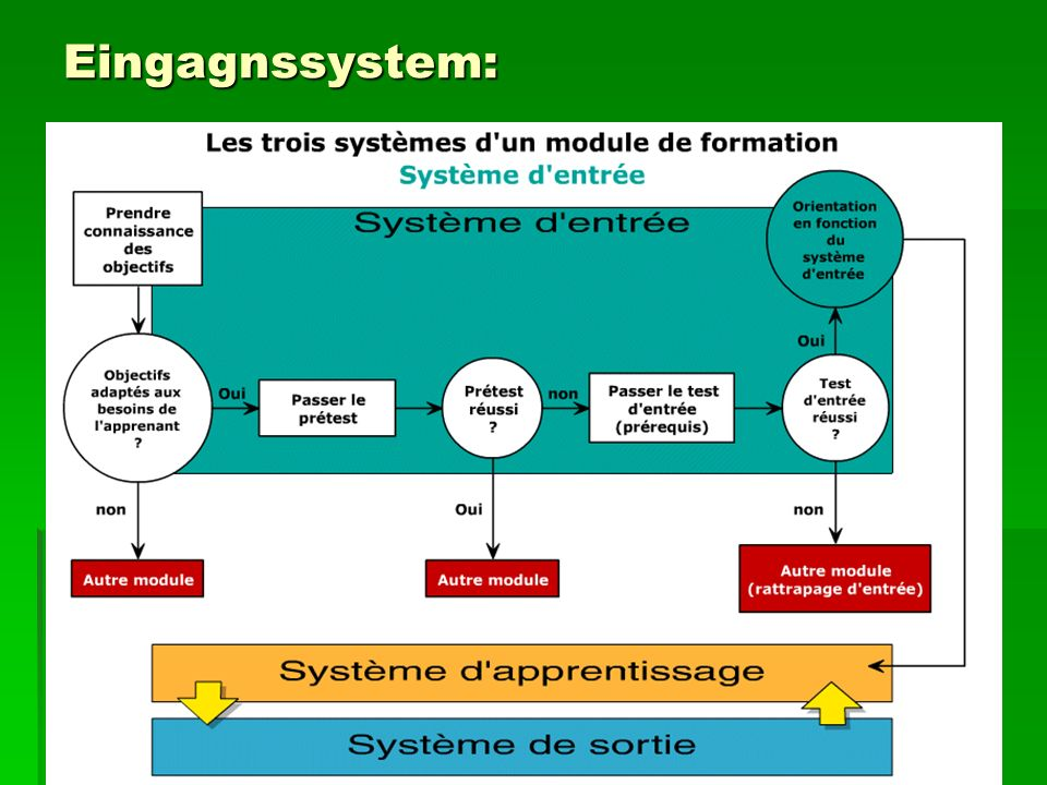 Eingagnssystem: