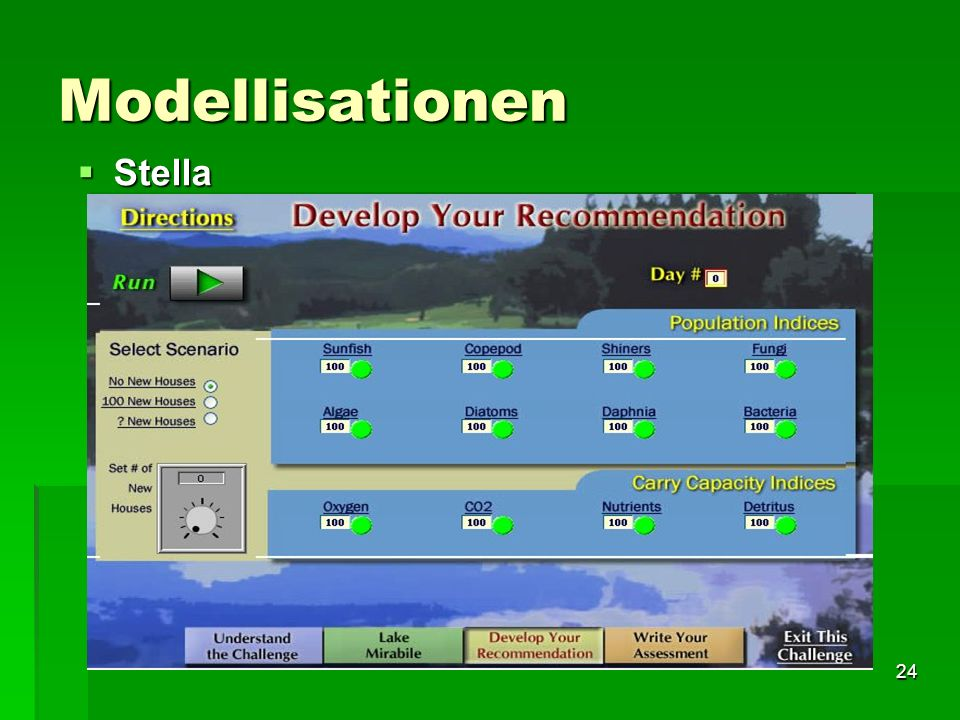 Modellisationen Stella