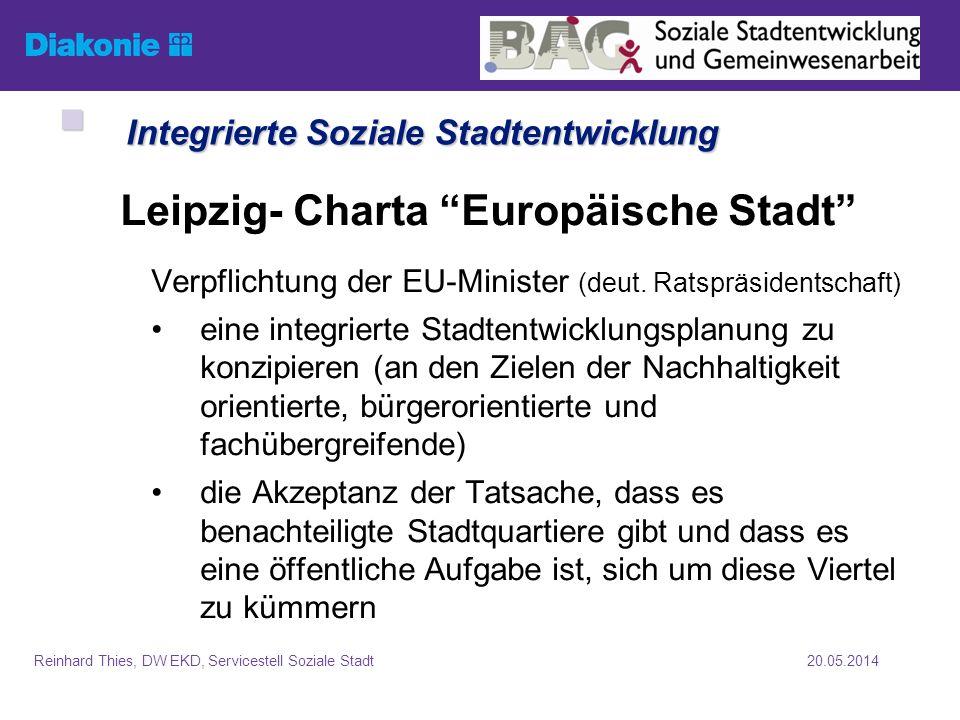 Integrierte Soziale Stadtentwicklung