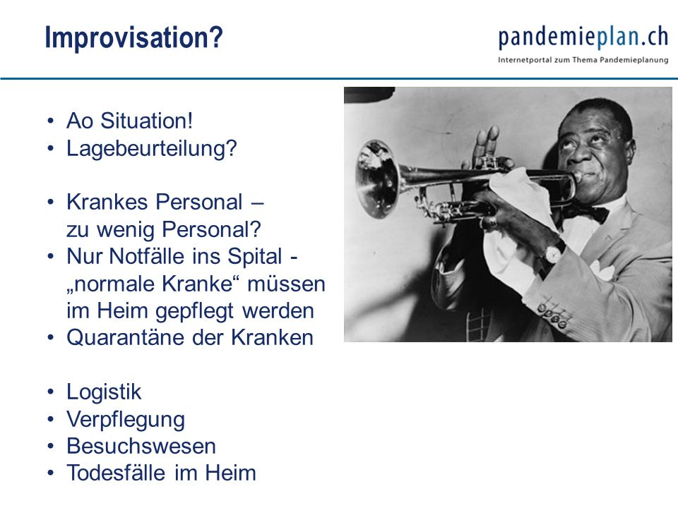 Improvisation Ao Situation! Lagebeurteilung