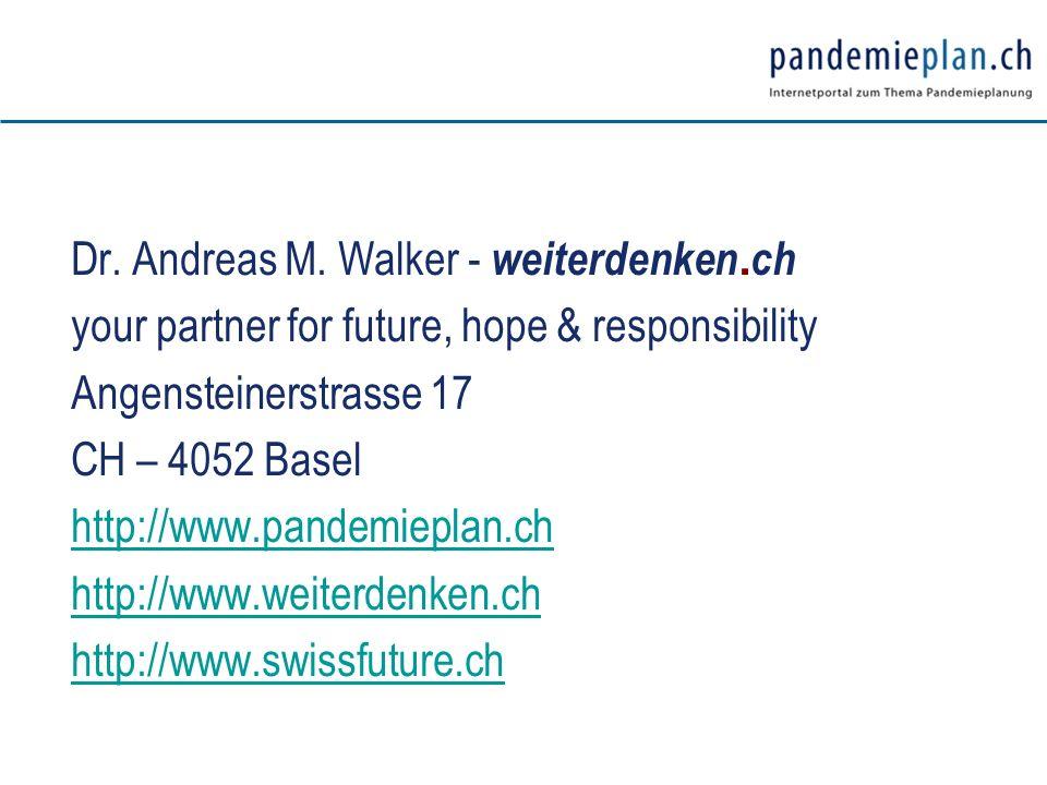 Dr. Andreas M. Walker - weiterdenken.ch