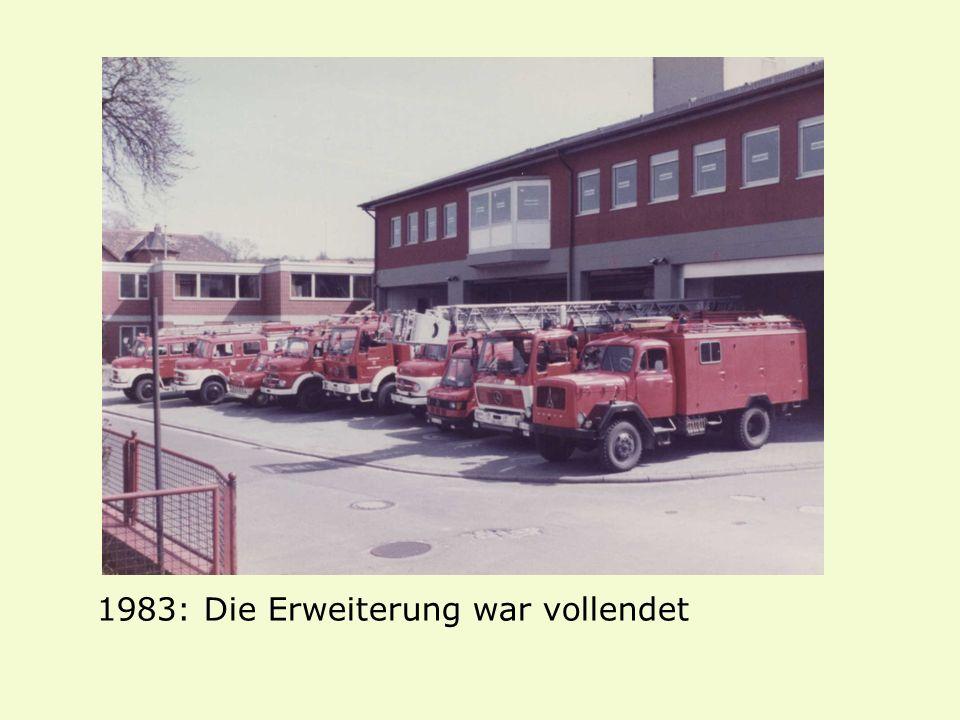 1983: Die Erweiterung war vollendet