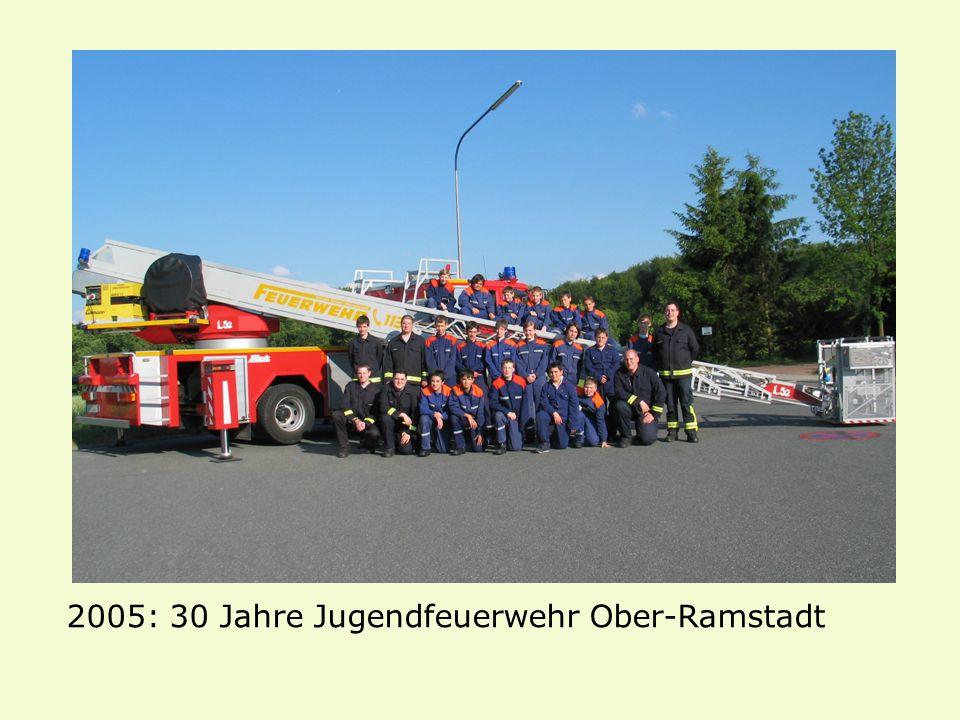 2005: 30 Jahre Jugendfeuerwehr Ober-Ramstadt