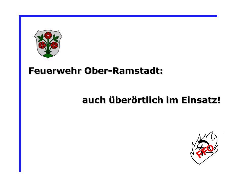 Feuerwehr Ober-Ramstadt:
