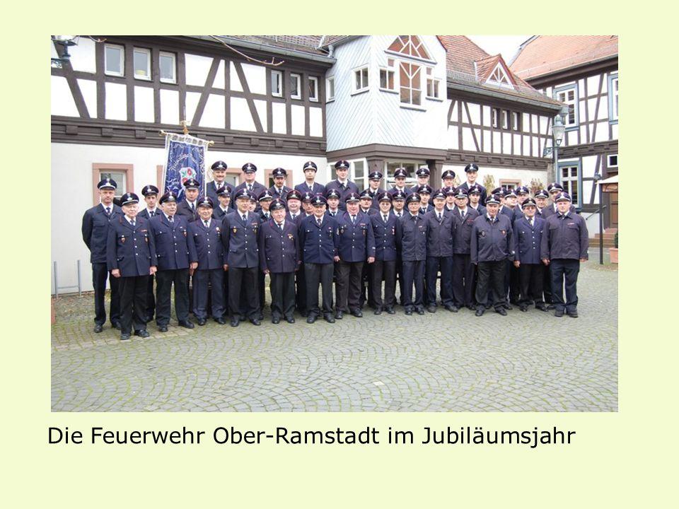 Die Feuerwehr Ober-Ramstadt im Jubiläumsjahr